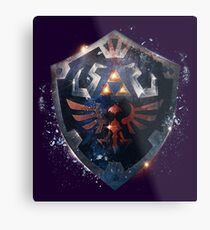 The Epic Hylian Shield Metal Print