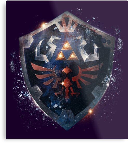 The Epic Hylian Shield by barrettbiggers