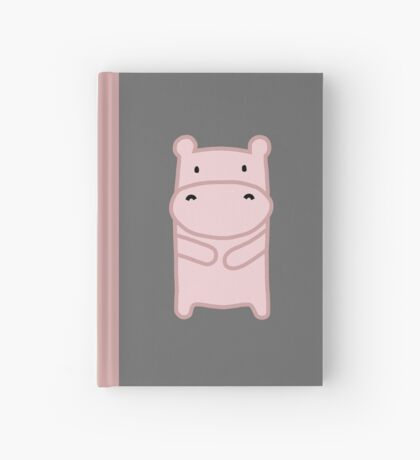 Pink Hippo Hardcover Journal