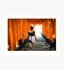 Fushimi Inari Art Print