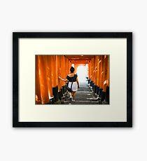 Fushimi Inari Framed Art Print