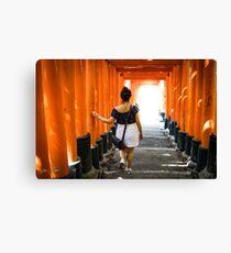 Fushimi Inari Canvas Print