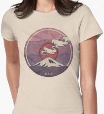 Fuji Tailliertes T-Shirt für Frauen