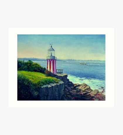 Hornby Lighthouse Sydney Australia Art Print