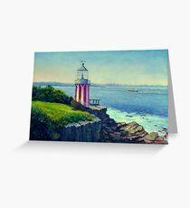 Hornby Lighthouse Sydney Australia Greeting Card