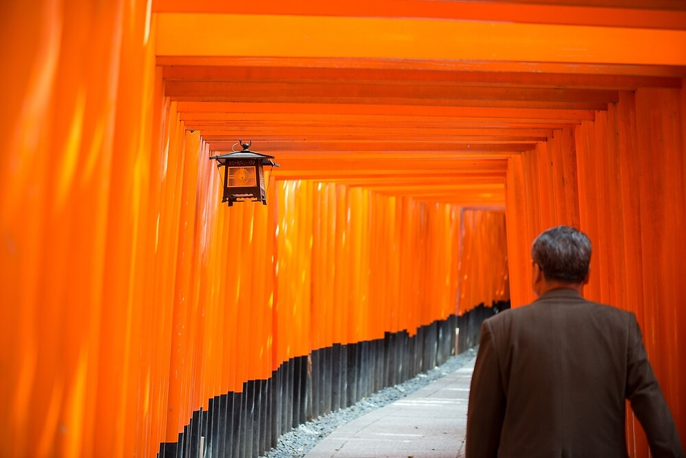Fushimi Inari Taisha by Mark Eden