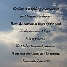 Healing by Diamante Lavendar by DiamanteLavenda