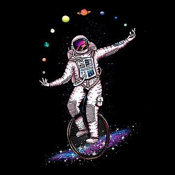 Juggling Circus Astronaut by Diardo