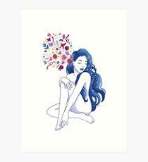 Sound Meditation Art Print Art Print