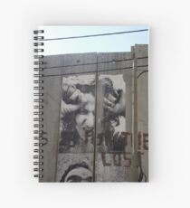 Graffiti - The West Bank Separation Wall, Palestine Spiralblock