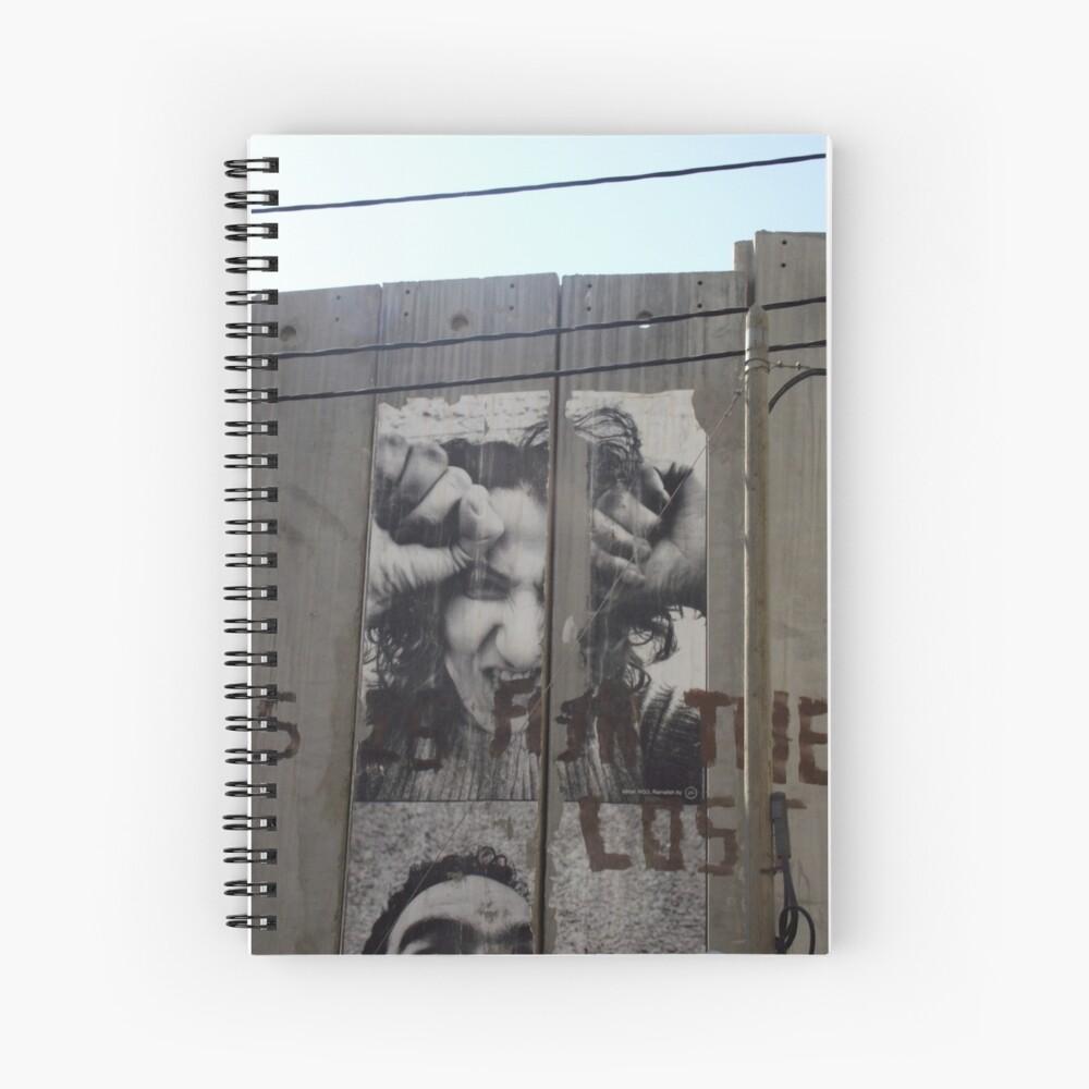 Graffiti - The West Bank Separation Wall, Palestine Spiralblock