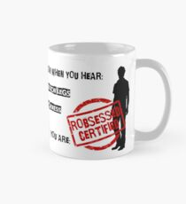 ROBSESSED CERTIFIED Taza