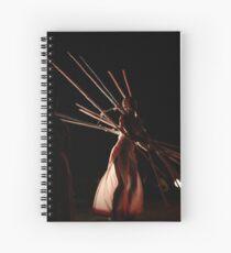 Dancers create the dreams Spiral Notebook