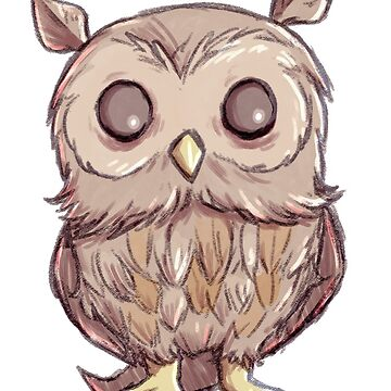 Brown Owl by Darthblueknight