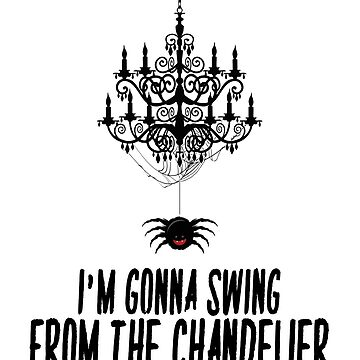Sia Chandelier Spider by clad63