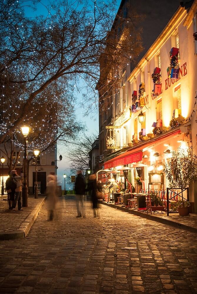 Place du Tertre, Paris by Mark Eden