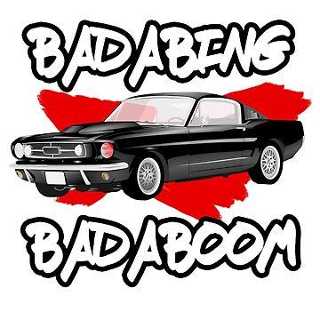 BADABING BADABOOM (SO) by AVenkmanDesign
