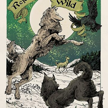 Rejoice and stay WILD by WOLFSKULLJACK
