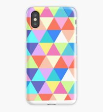 Iowa Colorful Triangles Geometric Hipster  iPhone Case/Skin