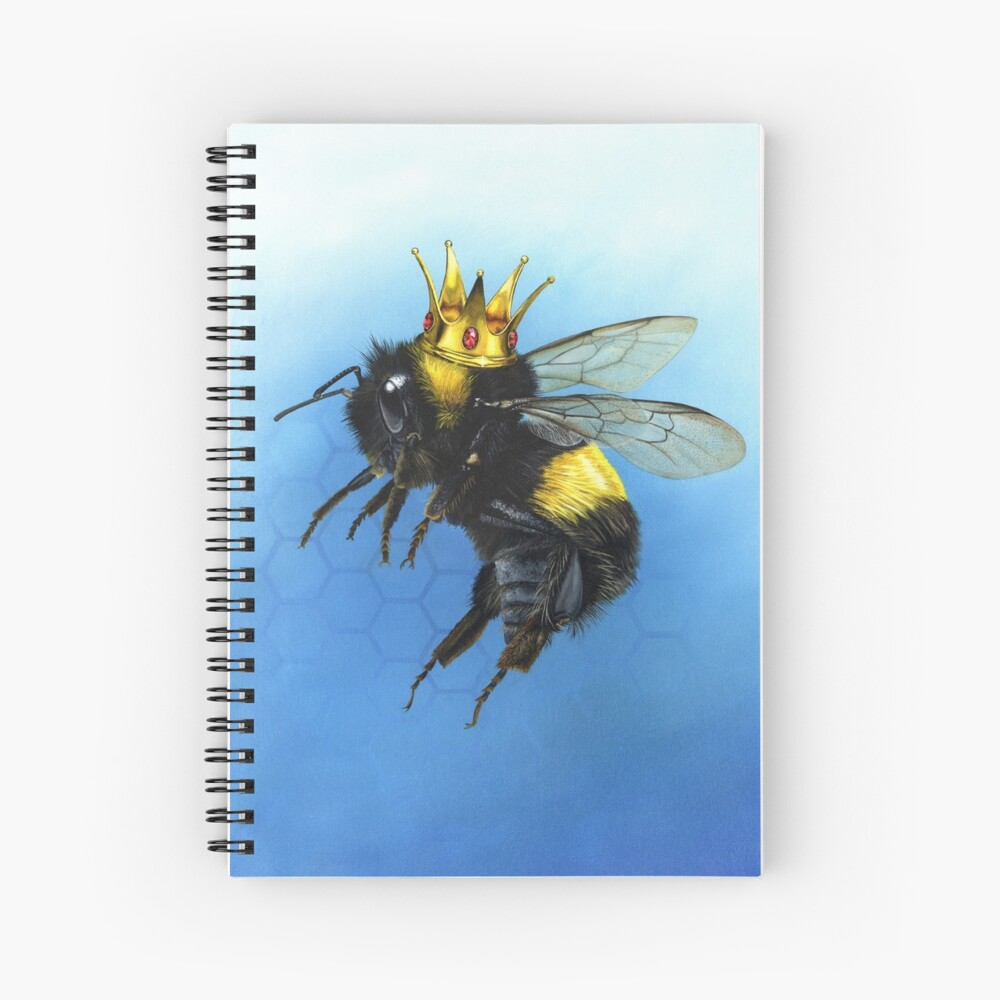 Queen Bee Spiral Notebook