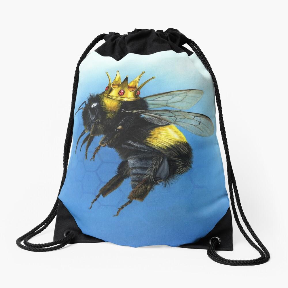 Queen Bee Drawstring Bag