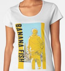 Gelb Frauen Premium T-Shirts