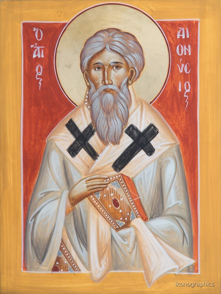 St Dionysios the Areopagite by ikonographics
