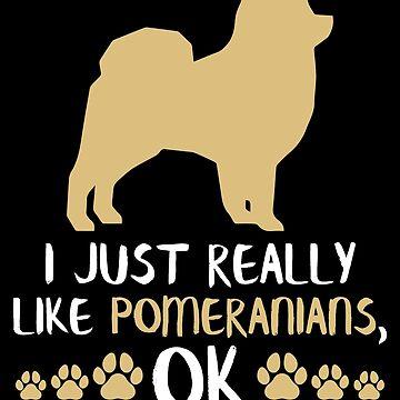 Pomeranian Dog Gifts Pom Mom Pomeranian Lover Gifts by modernmerch