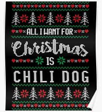 Chili Dog Posters Redbubble