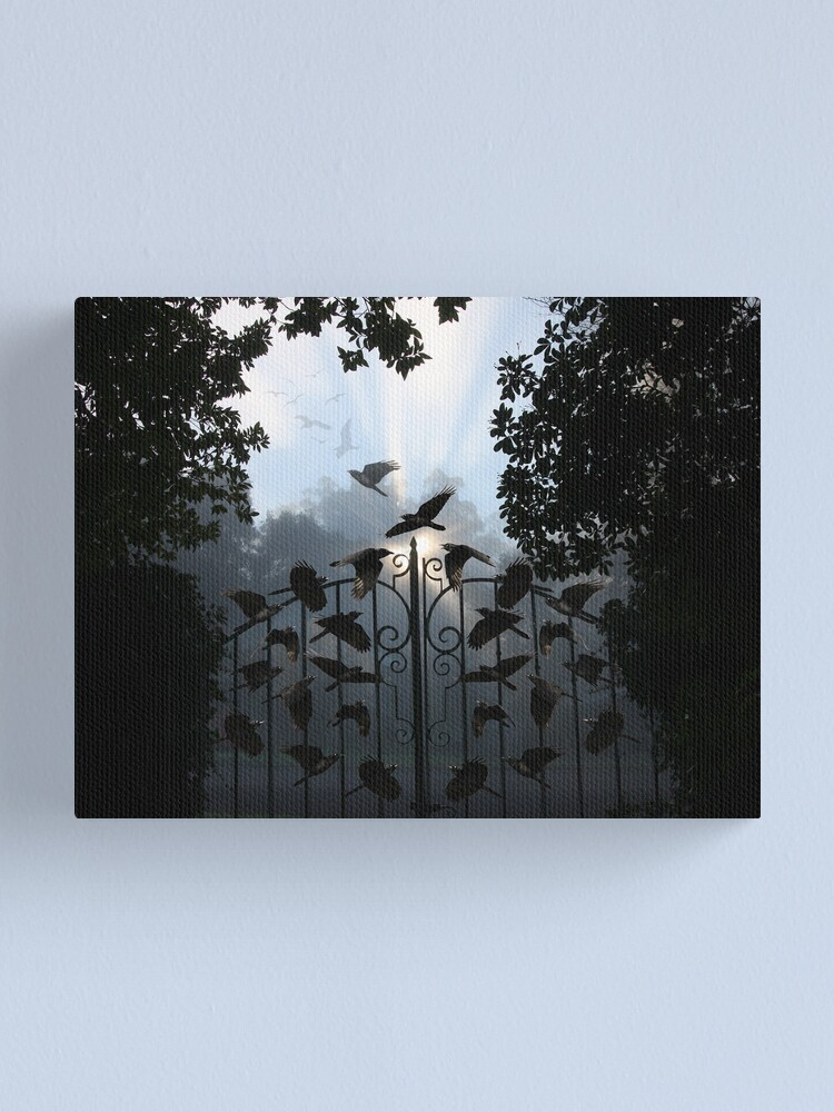 Alternate view of Gateway to Another World Canvas Print