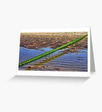 Seaweed line Greeting Card