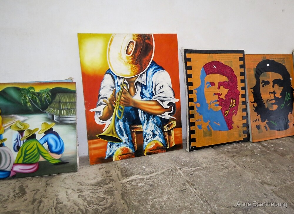 Paintings.  by Anne Scantlebury