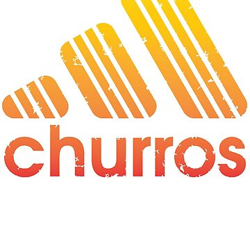 CHURROS RED ORANGE VERSION  by karmadesigner