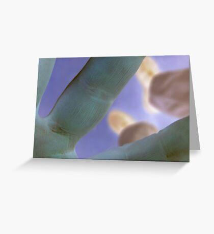 prints we leave Greeting Card