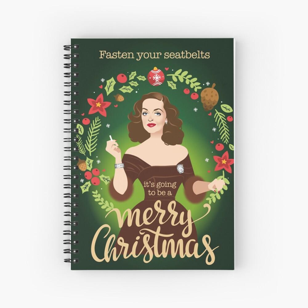 Bumpy Christmas Spiral Notebook