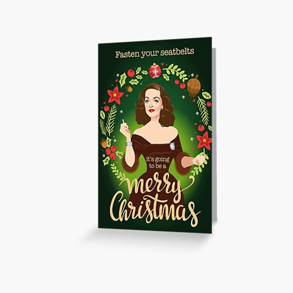 Bumpy Christmas Greeting Card