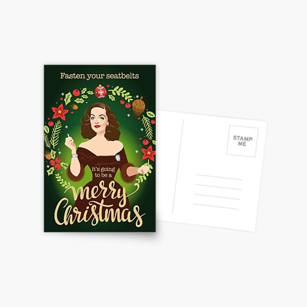 Bumpy Christmas Postcard