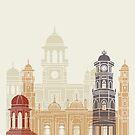 Peshawar Skyline Poster von paulrommer