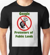 4Q T-Shirt . Style T5 Google Protectors of Public Lands Unisex T-Shirt