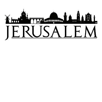 Jerusalem Israel Middle East Love Travel by IvonDesign