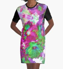Sunny Blossomthing Graphic T-Shirt Dress