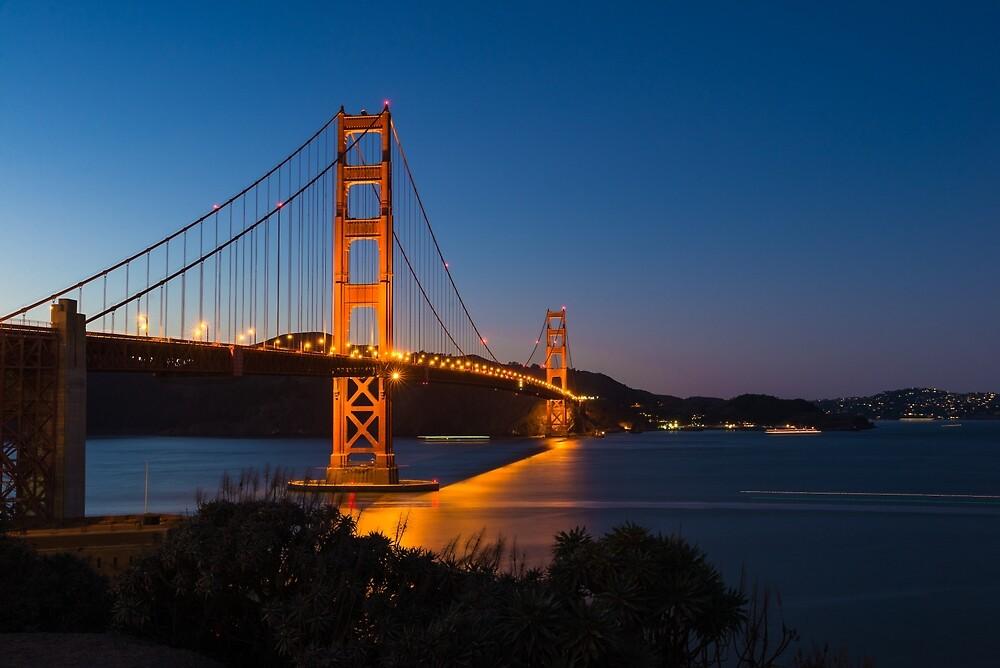Golden Gate Bridge by Mark Eden