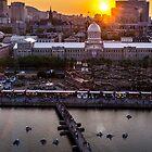 Old Port Sunset by Valerie Rosen