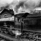 Steam Engine No.63395 by Trevor Kersley