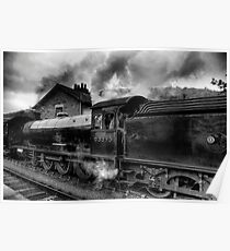 Steam Engine No.63395 Poster