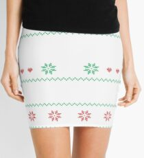 All I Want For Christmas Is Lorna Doone Ugly Christmas Sweater Mini Skirt