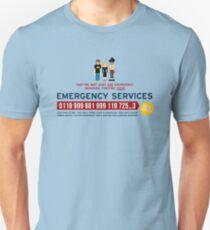 IT Crowd - Services d'urgence T-shirt unisexe