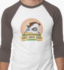 Camiseta ¾ bicolor para hombre Tiburón vaquero