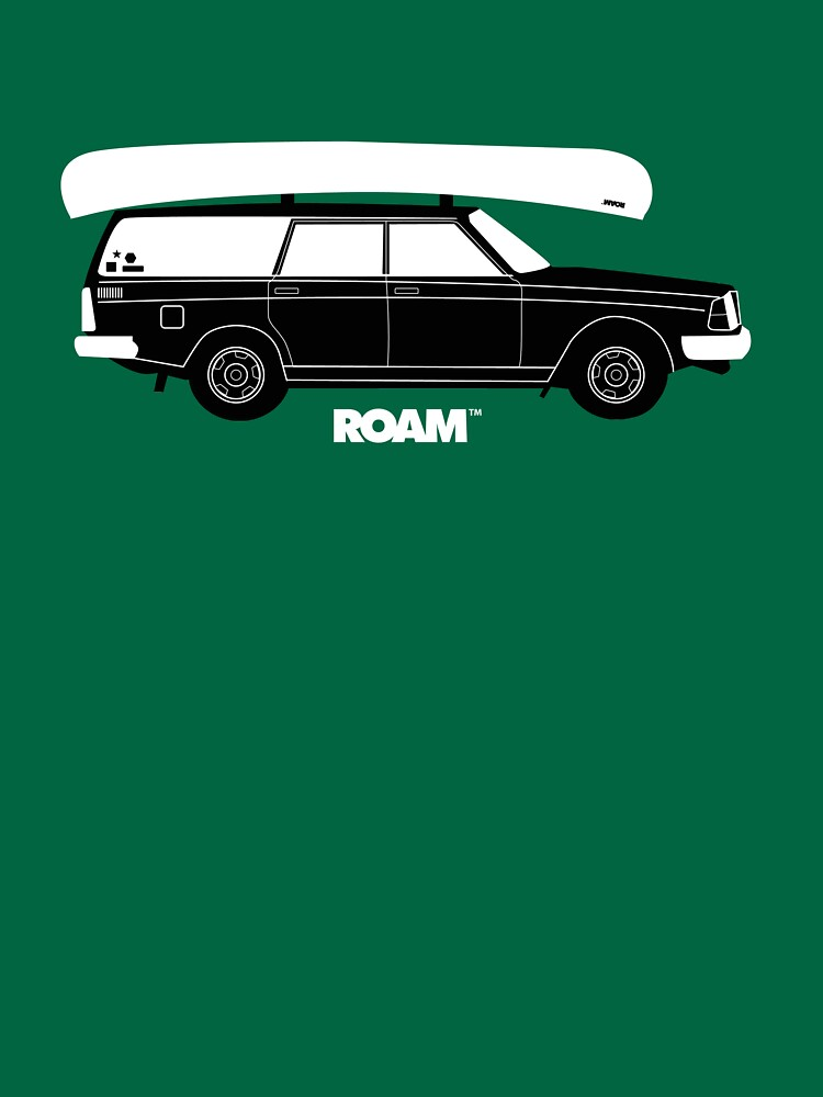 ROAM Volvo Granola Wagon with Canoe by jpburdett