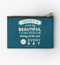 Beautiful Tomorrow Zipper Pouch